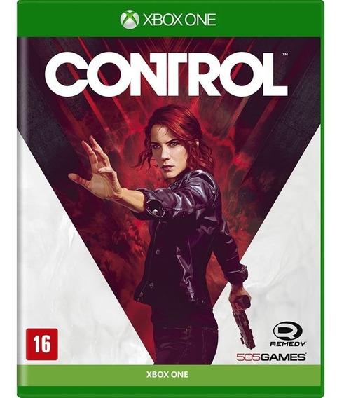 Jogo Midia Fisica Control 505 Games Original Para Xbox One