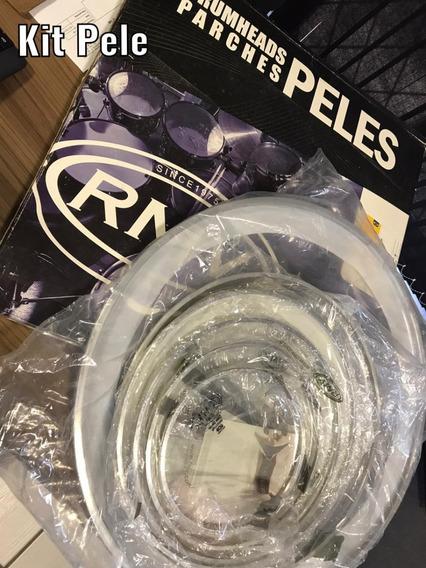 Kit De Pele Para Bateria Rmv Duo Clear 22/16/14/14/12/8
