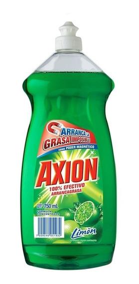 Lavatrastes Líquido Axion Aroma Limón 750 Ml