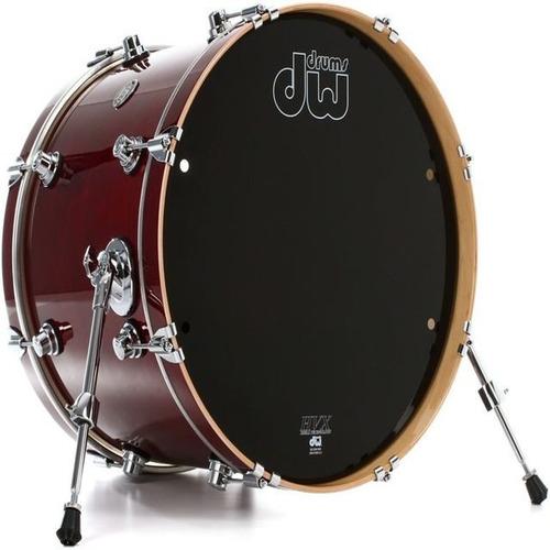Imagen 1 de 1 de Dw Performance Series Bass Drum - 16 X 20 Cherry Stain Lacqu