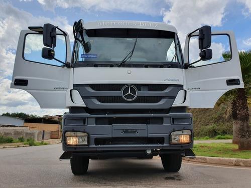 Mercedes-benz Axor 3344 6x4 Ano 2017 Cavalo Mecânico 6x4