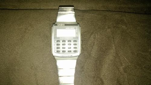 Relógio Casio Calculadora Ca-506 Pulseira Aço
