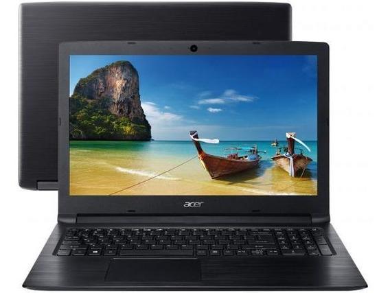 Notebook Acer A315 15.6 I3-7020u 8gb Ssd 480 Gb W10pro