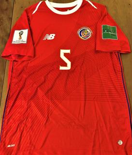 Camisa Costa Rica Copa Do Mundo 2018 Completa