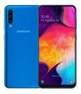 Smartphone Samsung Galaxy A50, Azul, 6,4 64gb, 25mp+5mp+8mp