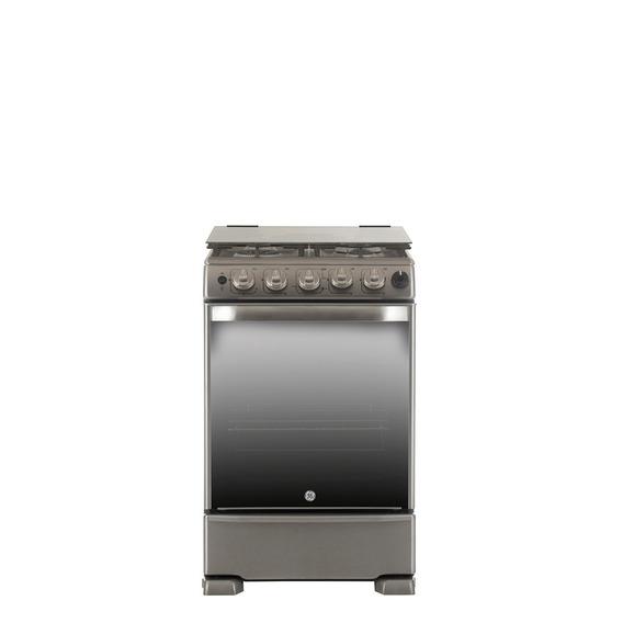 Cocina A Gas 55 Cm Inoxidable Con Grill Ge Appliances Cg956i