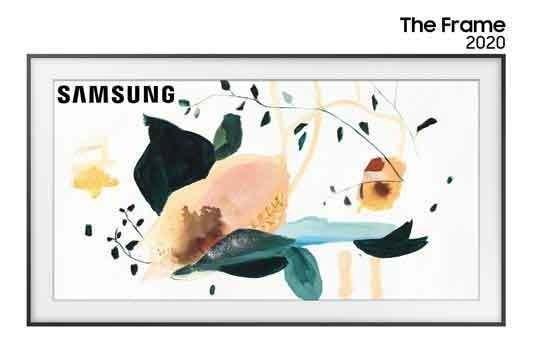 Smart Tv Samsung The Frame Qled 4k 55 - Qn55ls03tagxzd