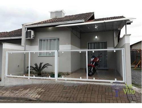 Casa Com 2 Dormitórios À Venda, 50 M² Por R$ 220.000,00 - Badenfurt - Blumenau/sc - Ca0402