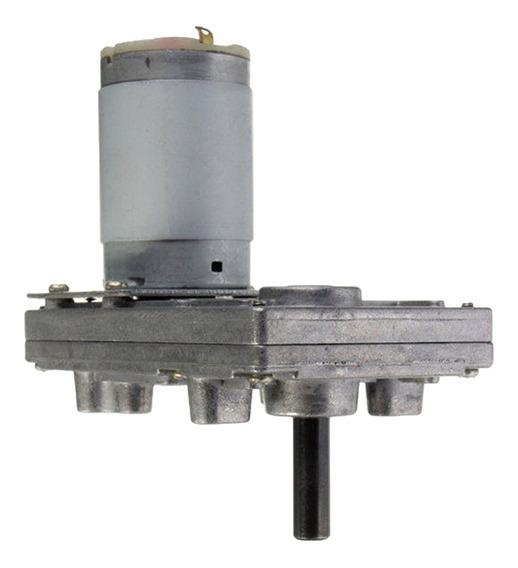 Motor Reductor Engranajes De Metal 12v-24v Dc Kits De