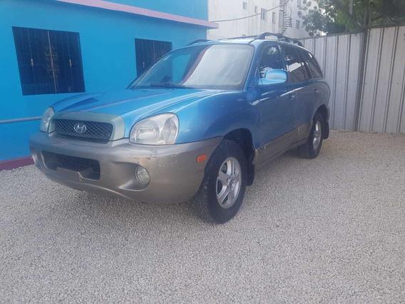Hyundai Santa Fe 2002 Azul