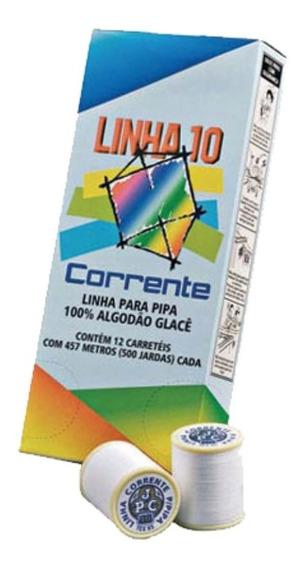 Linha 10 Corrente 500 Jardas P/ Pipa C/12