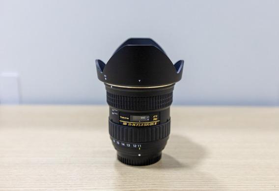 Lente Tokina 11-16mm Para Câmera Nikon