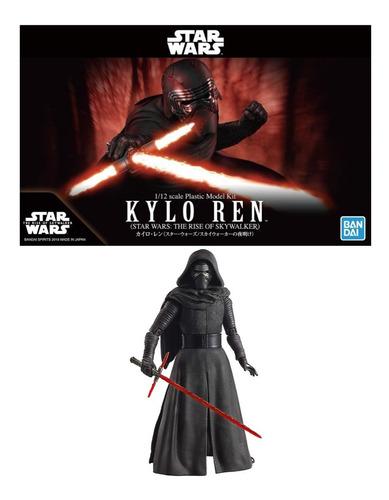 Imagen 1 de 2 de 1/12 Kylo Ren Star Wars Bandai Model Kit