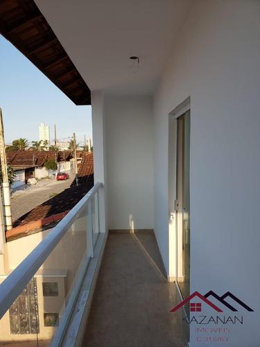 Casa  Nova 2 Quartos Bairro Maracanã - Praia Grande - 3500