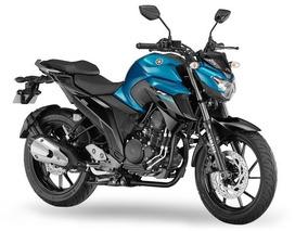 Yamaha Fz25 2018 Negro/azul Excelente