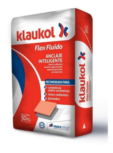 Pegamento Adhesivo Klaukol Flex Para Porcelanato X 30 Kg