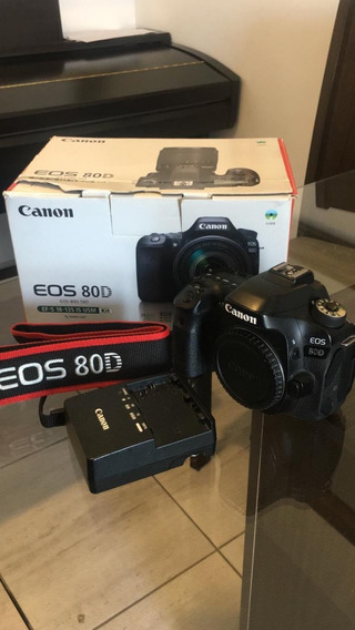 Câmera Canon 80d 20k Cliques