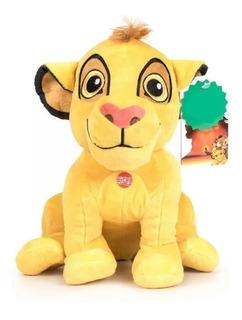 Peluche Rey Leon Disney Original Simba Bebe Infancia Juguete