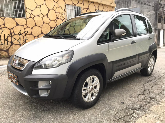 Fiat Idea 1.8 16v Adventure Flex 5p 2012 Leilao Recuperada