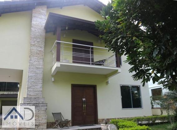 Casa Em Condomínio Para Venda Em Nova Friburgo, Chácara Paraíso, 3 Dormitórios, 2 Suítes, 3 Banheiros, 3 Vagas - 022