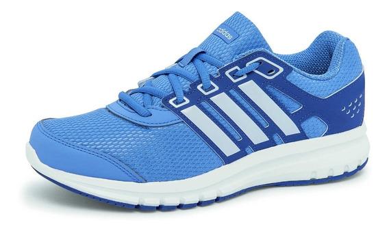 Tenis adidas Mod. Cp8767 Azul/blanco Para Dama.