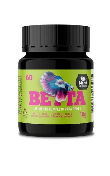 Mini Friends - Alimento Premium Para Peixe Betta - 10 G