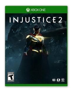Injustice 2 Juego Xbox One Original Digital + Garantía