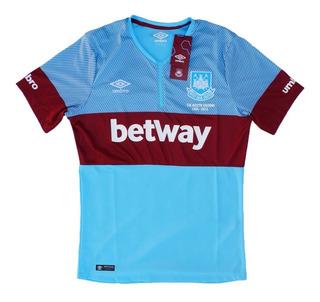 Camisa West Ham 2016 Away Boleyn Ground