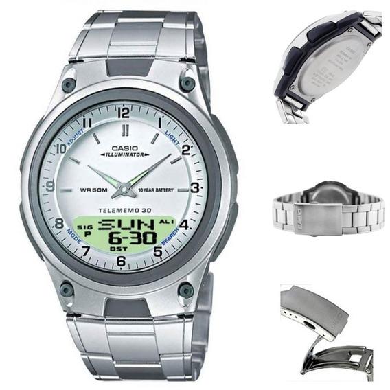 Reloj Casio Hombre Aw-80d 30 Memorias, Wr.50m Envio Gratis