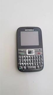Celular Motorola Ex 108 Para Retirar Peças Os 2744