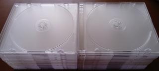 10 Cajas Transparentes Cd / Dvd Acrílicos (5)