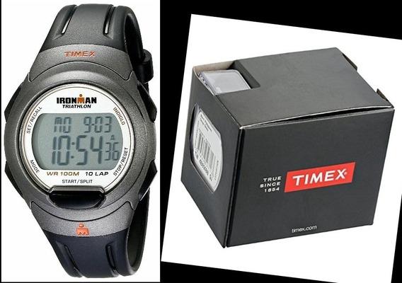 Relógio Timex Ironman Triathlon T5k607 Com Caixa Original