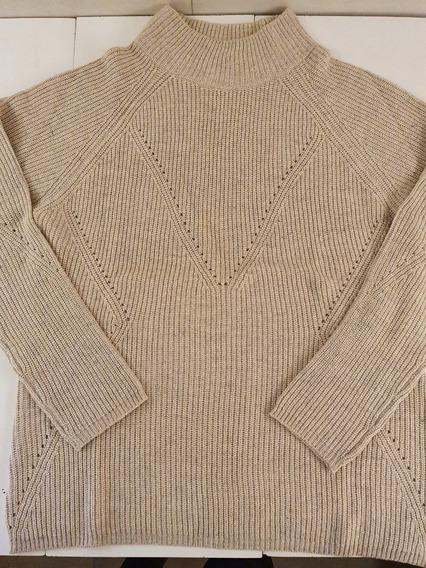 Sweater Mujer Beige Talle Único