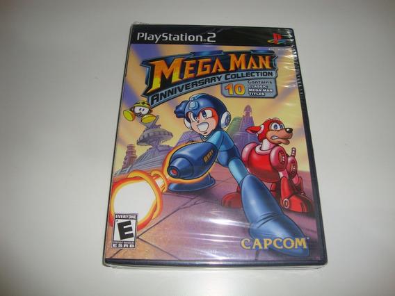 Megaman Collection Americano Lacrado Para Ps2