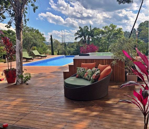 Linda Chácara, Com Vista Maravilhosa E Condomínio Fechado !!