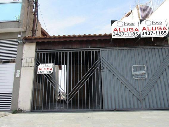 Casa Com 2 Dormitórios Para Alugar, 60 M² Por R$ 1.500/mês - Jardim Bom Clima - Guarulhos/sp - Ca0809