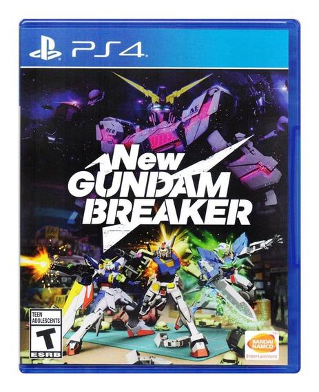New Gundam Breaker Ps4 Playstation 4 Juego Nuevo En Karzov