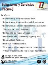 Servicio Tecnico Pc, Laptop, Impresoras