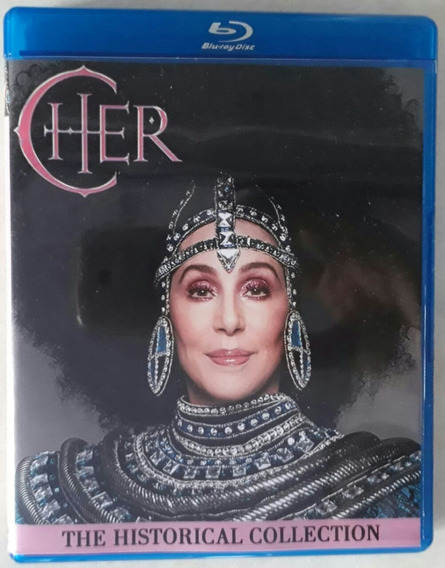 Bluray Cher The Historical Collection - Frete Grátis