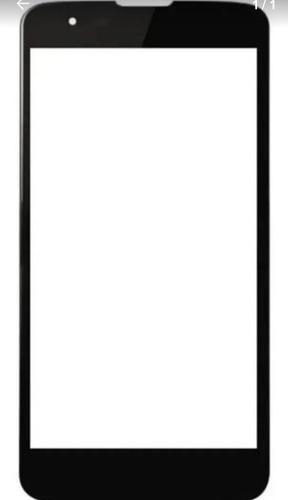 Tela Vidro De Acabamento LG K8 2016 K350 Sem Touch