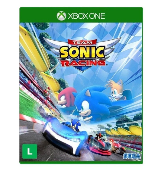 Jogo Lacrado Midia Fisica Team Sonic Racing Para Xbox One
