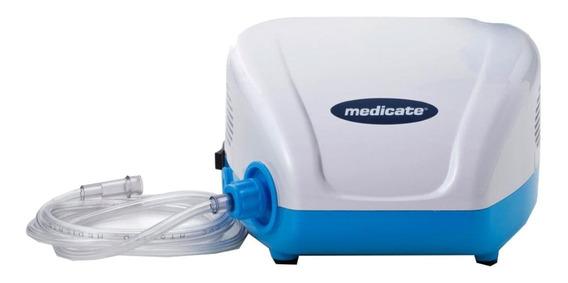 Nebulizador compressor Medicate MD1300 branco e azul 110V/220V