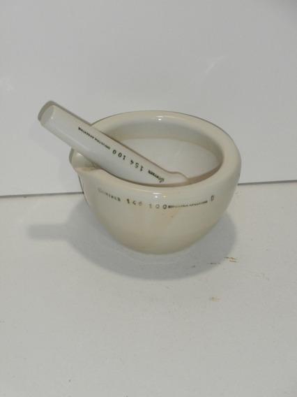 Mortero De Porcelana 10 Cm Günther Con Pilon