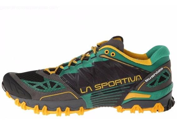 Tenis Bushido Hombre Ultra Trail Running La Sportiva Green