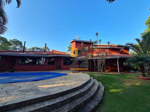 Casa Com 4 Dormitórios À Venda, 450 M² Por R$ 1.100.000 - Champs Privés - Campo Limpo Paulista/sp - Ca13894