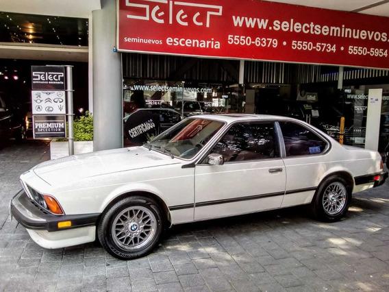 Clásico Bmw 635 Csi, 1987