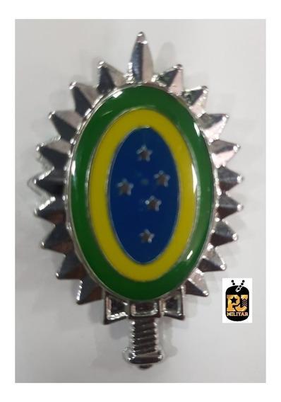 Distintivo De Boina Brasão Exército Brasileiro Padrão Rue Nf