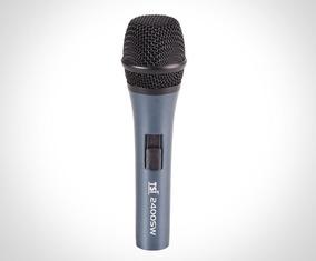 Microfone Com Fio Tsi 2400sw Brinde: Cabo 5m + Case + Bolsa