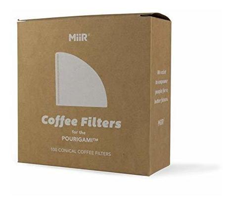 Imagen 1 de 4 de Filtros Desechables - Miir, Coffee Filters - 100 Pack