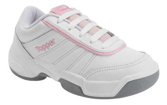 Zapatillas Topper Tie Break Ii Kids Escolar Asfl70